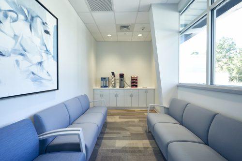 Avala Imaging Center Lobby Coffee Station