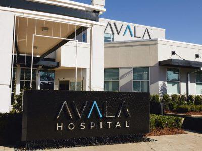 Avala Hospital Exterior - Wide