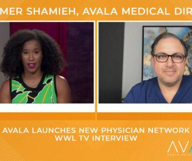 Tumbnail - Dr. Samer Shamieh Interview - AVALA Physician Network - WWL 2021